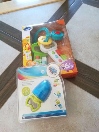 Nowa zabawka melodyjka gryzak na owoce canpol babies