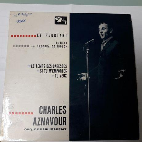 Disco vinil Charles Aznavour