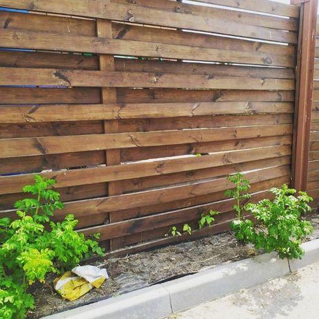 Забор из дерева! Деревянные заборы! Забор Жалюзи, Штахет