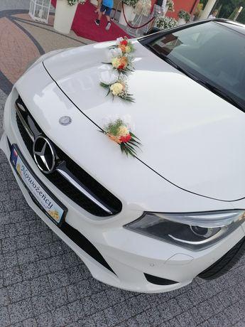 Auto do ślubu Mercedes CLA