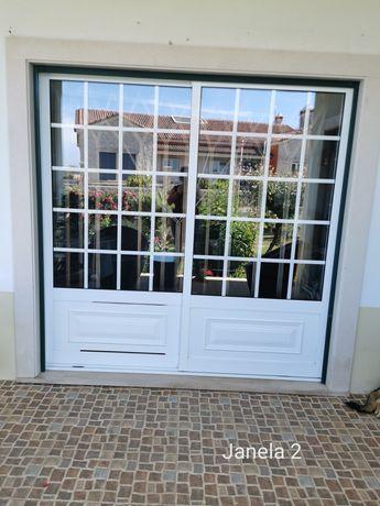 Portas de sacada + janelas