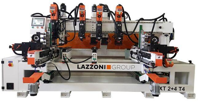 Wiertarka przelotowa NEXT 2+4 T4 - Lazzoni Group