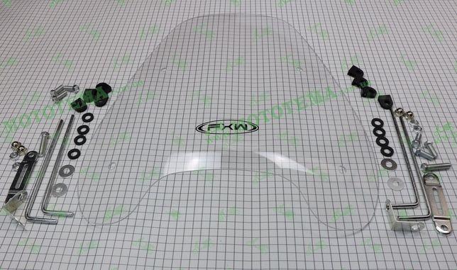 Ветровое стекло (обтекатель) для мотоцикла, мопеда скутера FXW HF-0607
