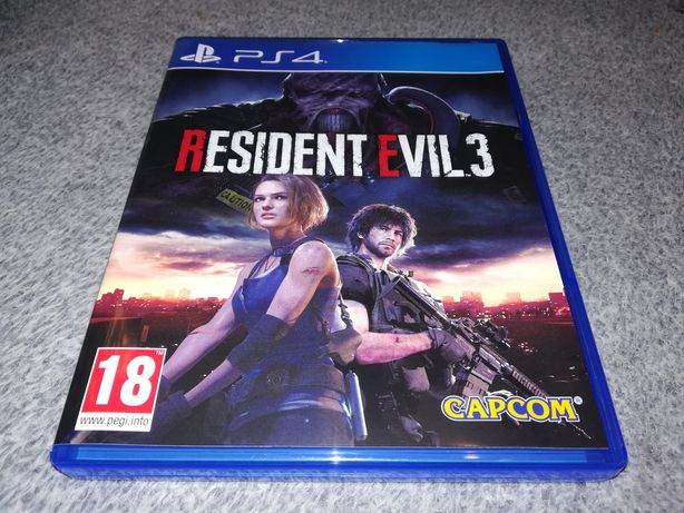 Resident Evil 3 Remake PL Ps4 Łódź