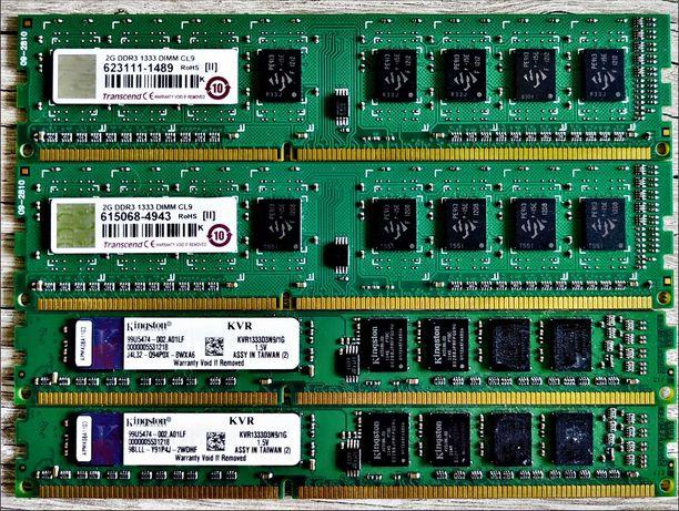 Оперативная память, модули памяти Kingston, Transcend