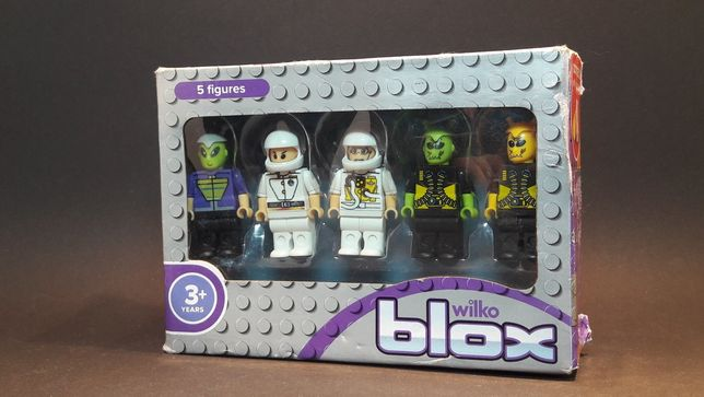 человечики lego wilko blox 5 figures
