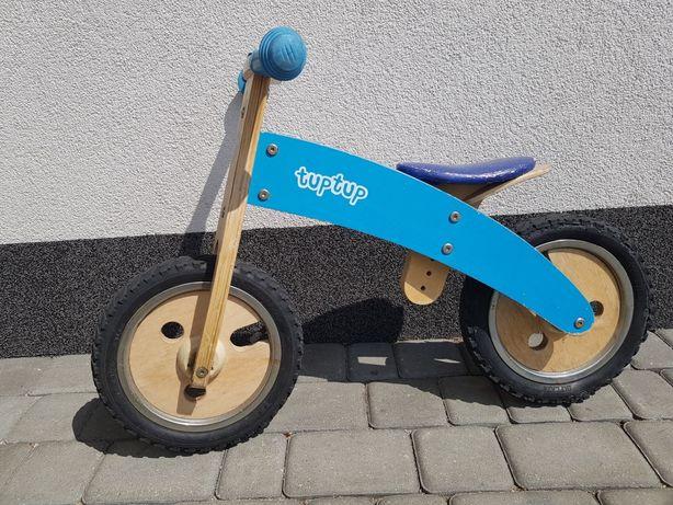 Rower biegowy tuptup drewniany