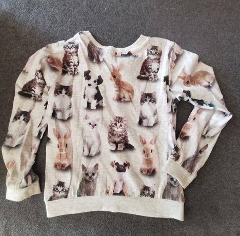 Bluza koszulka hm next reserved next zara