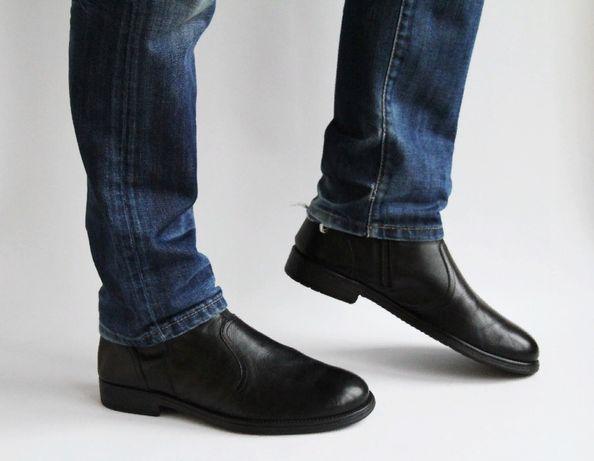 ботинки с молнией збоку Geox . Rieker,Ecco