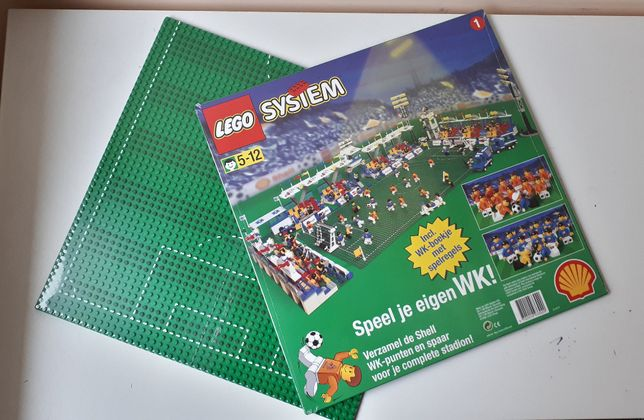 Lego Soccer Field – Лего пластины футбольное поле