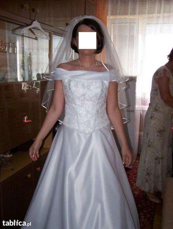 suknia ślubna dwuczęściowa rozm. 38