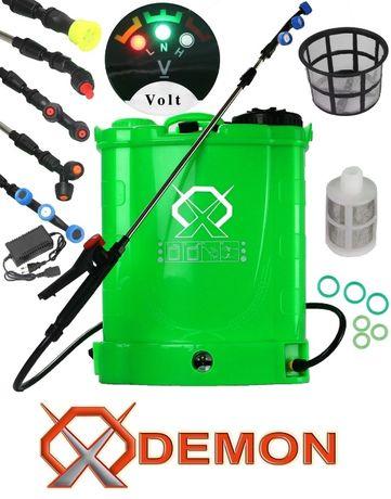 DEMON OPRYSKIWACZ 16L akumulatorowy 8Ah plecakowy + dysze