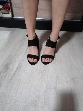 Buty sandałki czarne