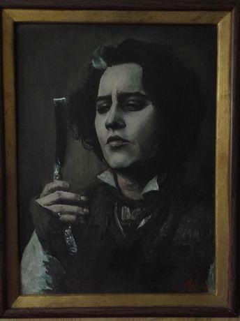 Картина,Mr.Todd. Ціна- 2000 грн.