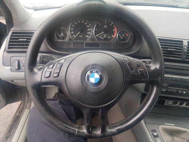 BMW E46 M-Pakiet M-Technik Multifukcja Kierownica z Poduszką AirBag