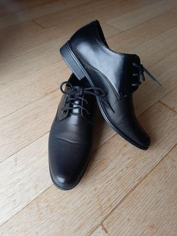 Pantofle komunijne, pantofle chłopięce, buty komunijne, buty elegancke