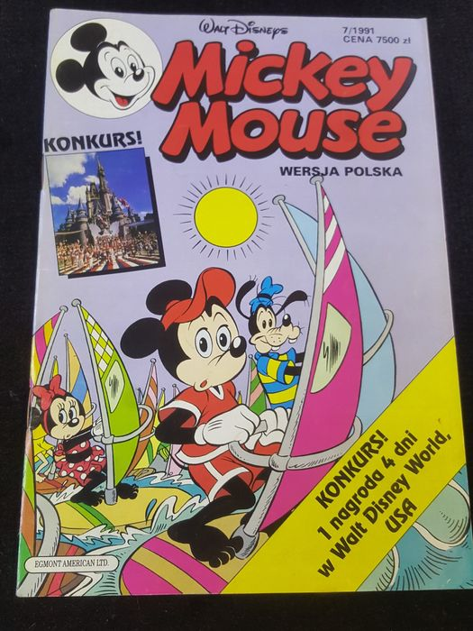 Mickey Mouse. Nr.7/1991. Komiks Morąg - image 1