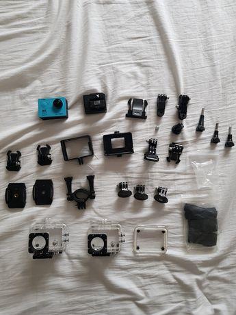 kamera sportowa, gopro, sjcam akcesoria, bateria, ładowarka