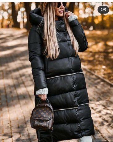 Женское зимнее пальто трансформер 3 длины