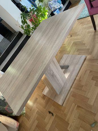 Stół jadalniany - ława wysoka / jadalnia