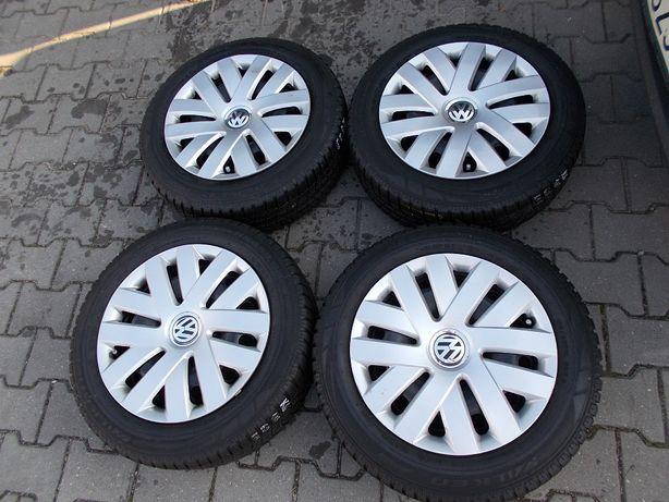 Opony zimowe z felgami 5x100 6Jx15H2 ET38 VW, SEAT (K6)