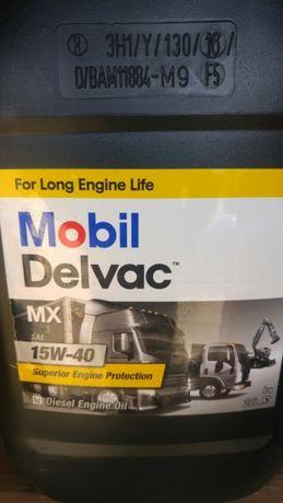 Olej silnikowy MOBIL DELVAC MX 15w40 20 litrów