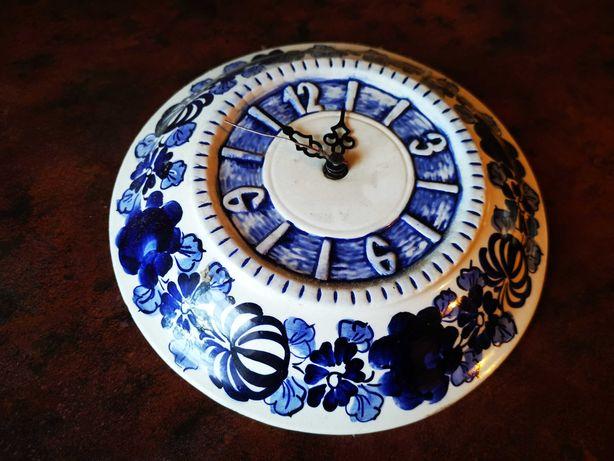 Zegar porcelanowy
