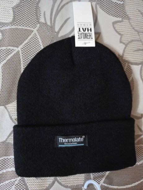 шапка мужская новая термо 56-58
