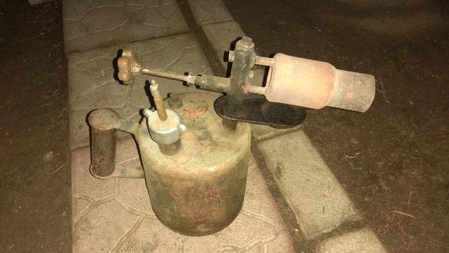 Лампа паяльная модернизированная из СССР