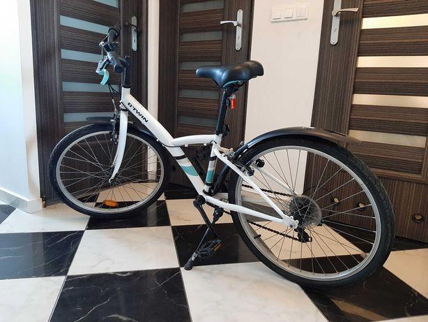 """Sprzedam rower BTWIN Original 100 24""""- mało używany"""