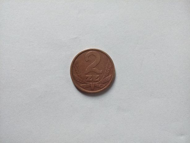 Moneta 2 zł 1981 r.