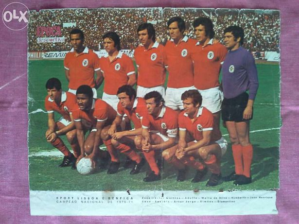 poster do Benfica (antigo e raro)