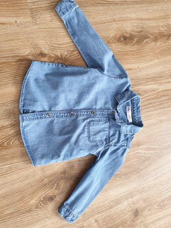 Koszula jeans zara 92