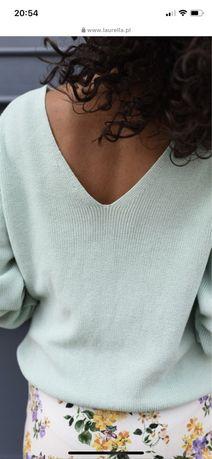 Laurella sweterek sweter Bari pistacja M /L  nowy