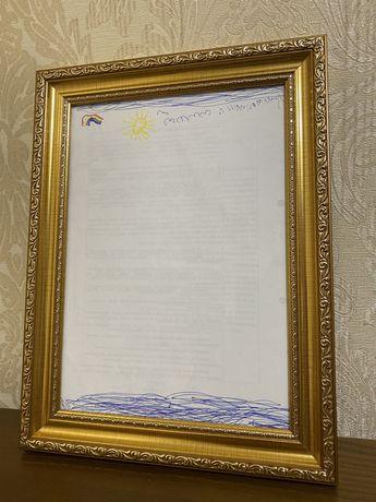 Картина Дианы «Берег»