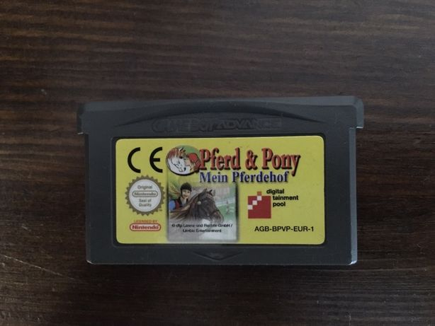 Nintendo DS i Game Boy Advance Pferd & Pony