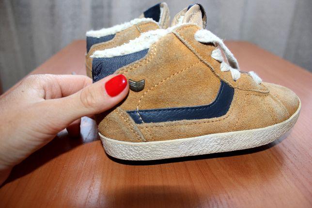 Ботинки коричневые кэмэл next 23 -24 размер