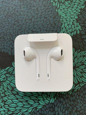 Nowe słuchawki Apple Iphone+ przejściówka