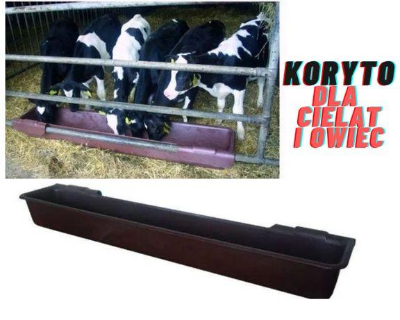 Masywne Koryto z zawiesiem dla cielat i owiec, 100 l