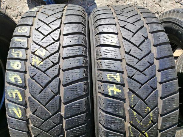 Шины 235/65R16C Dunlop sp Lt60-8 зима 2 штуки