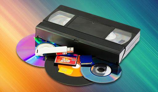 Перезапись (оцифровка) видеокассет VHS на ваш накопитель. 50грн/час.