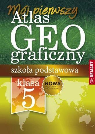 Atlas geograficzny do klasy 5