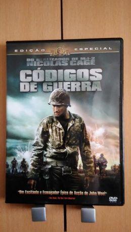 DVD Códigos de Guerra Legendas PT Nicolas Cage Filme de John Woo 2002