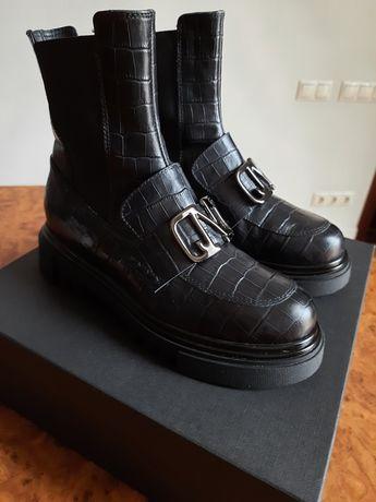 Ботинки,челси Jeannot,38p,Италия,зима.