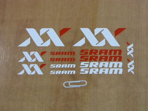 Autocolantes SRAM XX