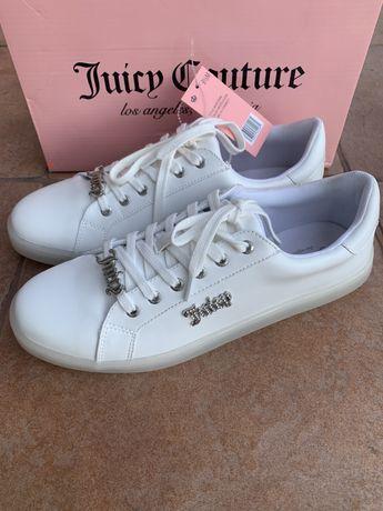 Белые кеды Juicy Couture  41 р. 26,5