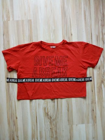 Koszulka dziewczęca 152 cm