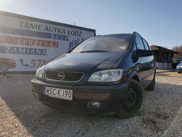 Opel Zafira 2.0 Diesel//Klima//7-osobowy//ZAMIANA/SKUP//GWARANCJA!