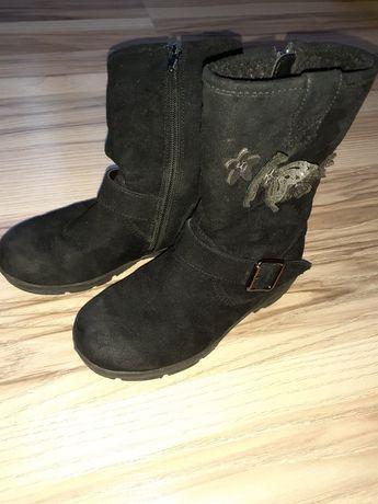 Buty kozaczki dziewczęce rozmiar 28