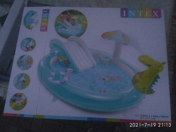 Бассейн Аллигатор детский надувной центр